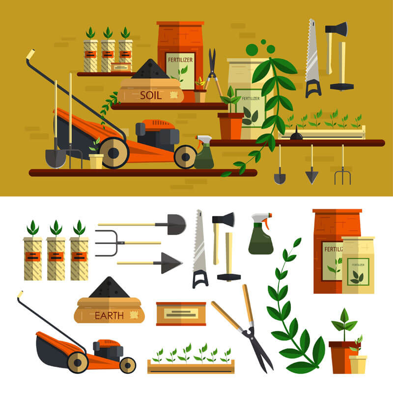 Lawn-Mowing-Tools